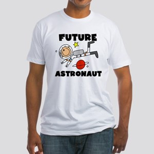 Male Future Astronaut Fitted T-Shirt