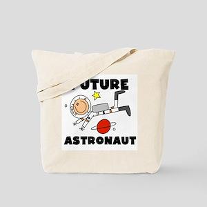 Male Future Astronaut Tote Bag
