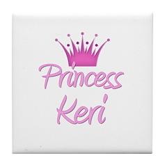 Princess Keri Tile Coaster