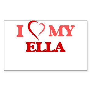 64cd6c0779dfd2 Ella Rules Stickers - CafePress