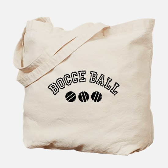Bocce Ball Tote Bag