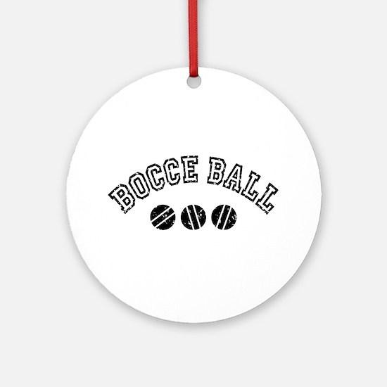 Bocce Ball Ornament (Round)