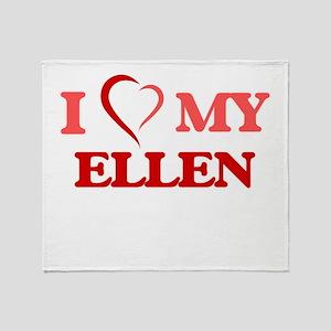 I love my Ellen Throw Blanket