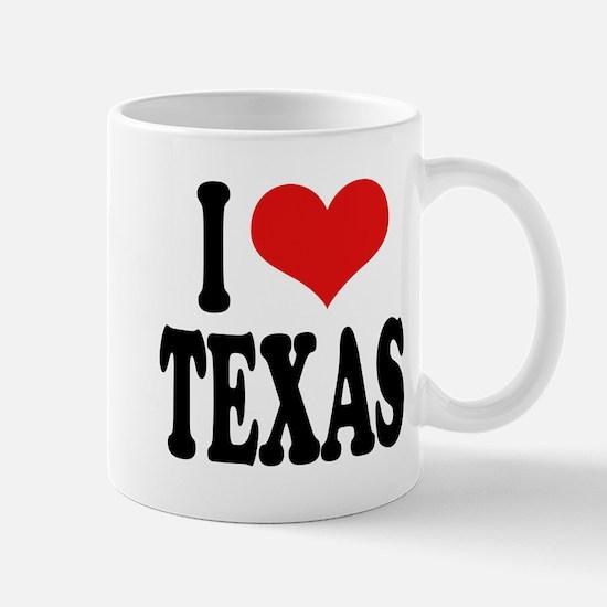 I Love Texas Mug