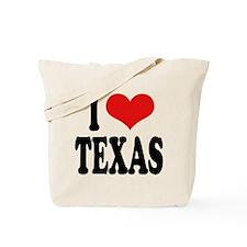 I Love Texas Tote Bag