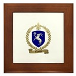 LEGENDRE Family Crest Framed Tile