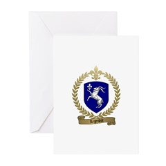 LEGENDRE Family Crest Greeting Cards (Pk of 10