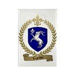 LEGENDRE Family Crest Rectangle Magnet