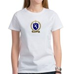 LEGENDRE Family Crest Women's T-Shirt