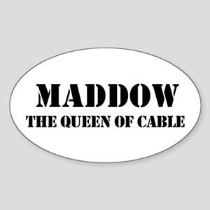 Maddow Oval Sticker