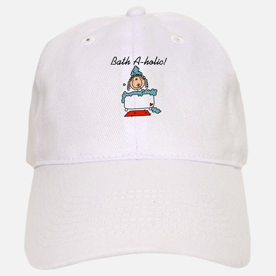 Bath-a-holic Baseball Baseball Cap