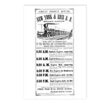 New York & Erie Railroad Postcards (Package of