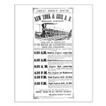New York & Erie Railroad Small Poster