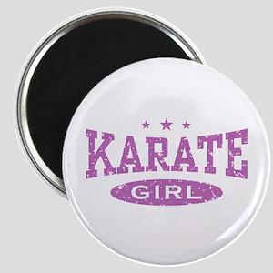 Karate Girl Magnet