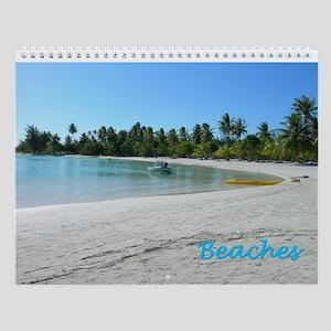 Beaches Wall Calendar