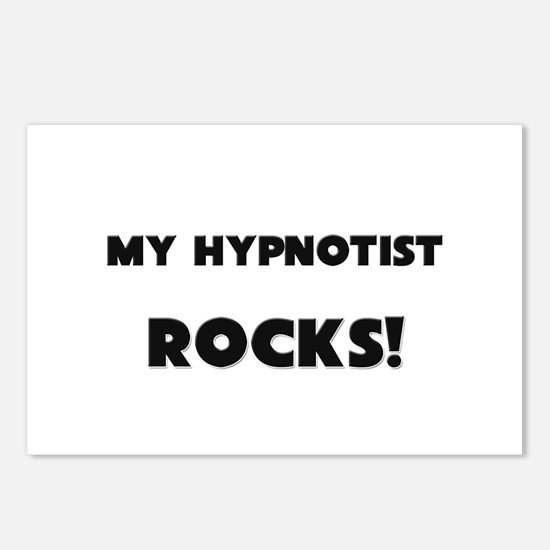 MY Hypnotist ROCKS! Postcards (Package of 8)