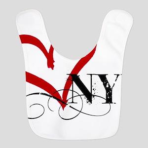 LOVE NYC FANCY Polyester Baby Bib