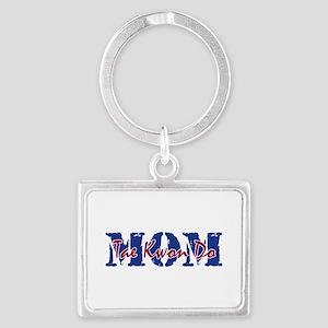 Tae Kwon Do Mom Landscape Keychain Keychains