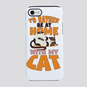 I'd Rather Be At Home Wi iPhone 8/7 Tough Case
