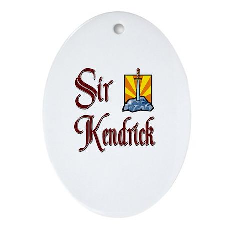 Sir Kendrick Oval Ornament