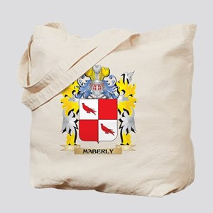 Maberly Coat of Arms - Family Crest Tote Bag