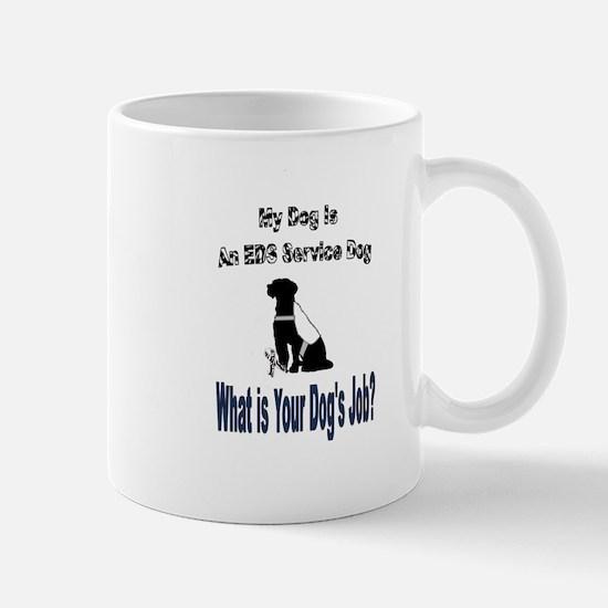 I'm an EDS service dog Mugs