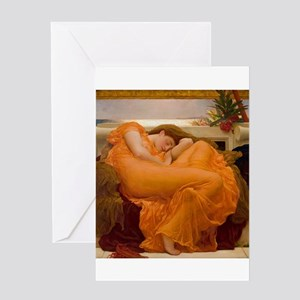 Flaming June Vintage Beautiful Fine Greeting Cards