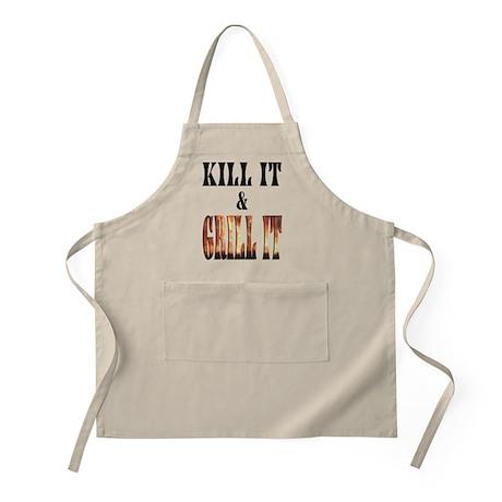 Kill It & Grill It BBQ Apron
