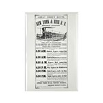 New York & Erie Railroad Rectangle Magnet (10 pack