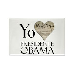Obama Biden 2008 Rectangle Magnet (10 pack)