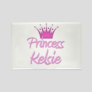 Princess Kelsie Rectangle Magnet