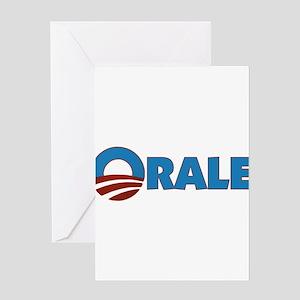 Orale Obama Greeting Card