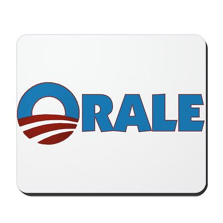 Orale Obama Mousepad