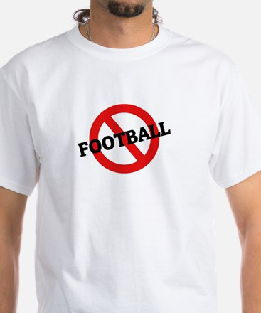 Anti Football White T-Shirt