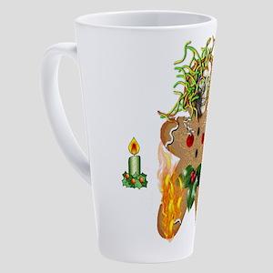 Wormy Gingerbread 17 oz Latte Mug