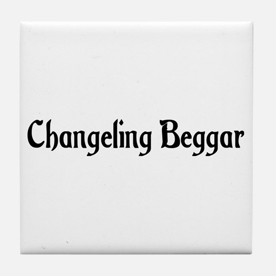 Changeling Beggar Tile Coaster