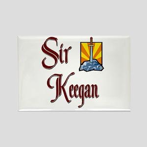 Sir Keegan Rectangle Magnet