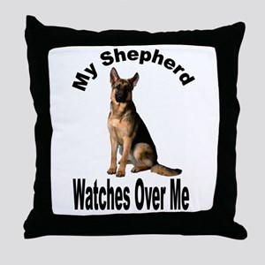 My Shepherd Throw Pillow
