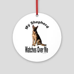 My Shepherd Ornament (Round)