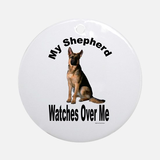 My Shepherd Ornament (Round)