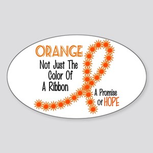 Not Just A Color 13 Oval Sticker