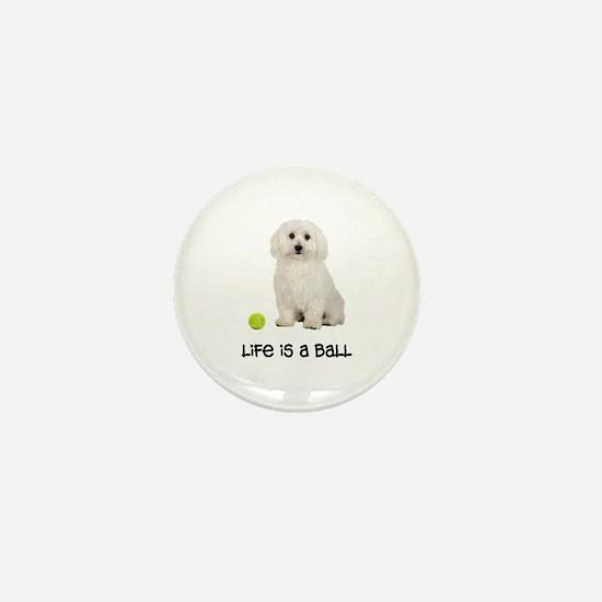 Bichon Frise Life Mini Button