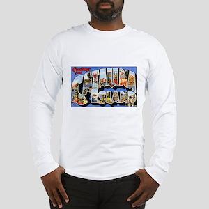 Catalina Island (Front) Long Sleeve T-Shirt