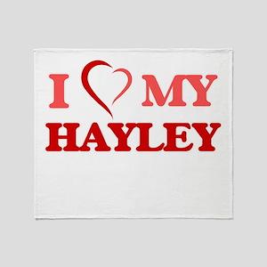 I love my Hayley Throw Blanket