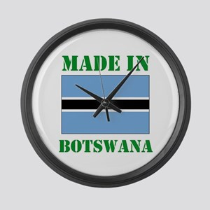 Made in Botswana Large Wall Clock