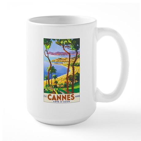 Cannes France Large Mug