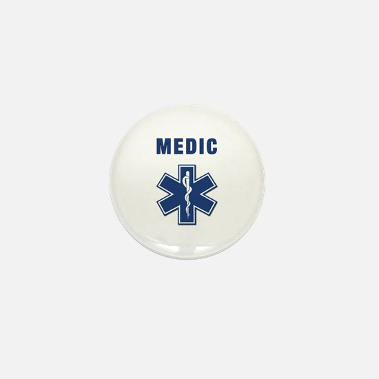 Medic and Paramedic Mini Button
