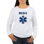 Medic and Paramedic Women's Long Sleeve T-Shirt