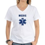 Medic and Paramedic Women's V-Neck T-Shirt