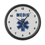 Medic and Paramedic Large Wall Clock